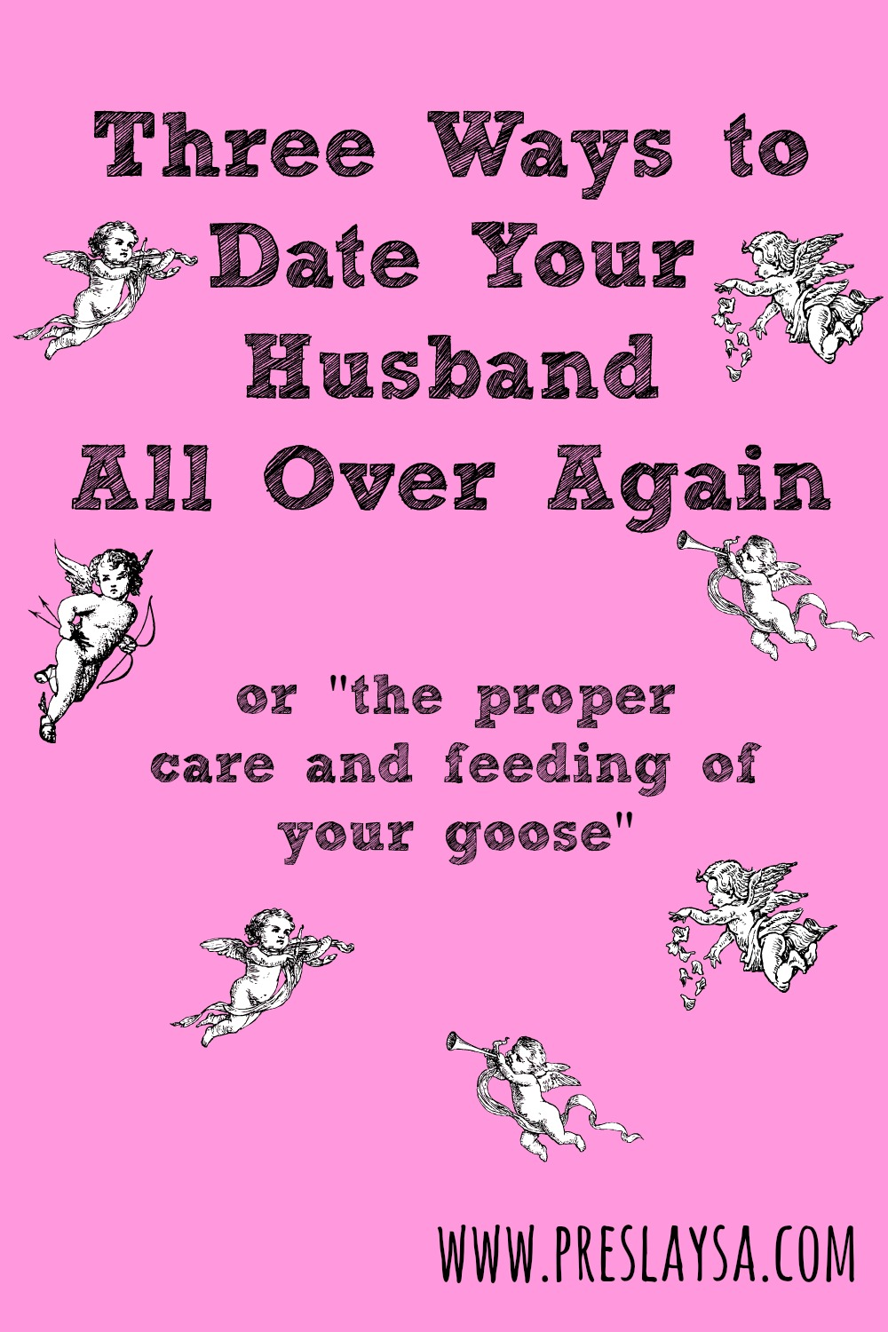Dating your husband again