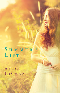 Summer's List front cover