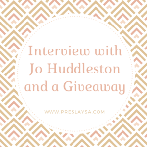 Friday FivewithJo Huddleston